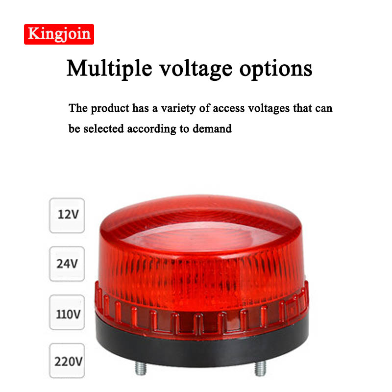 High Quality Waterproof LED Warning Light Alarm Light Girophare Led Warning Light  Beacon Strobe  Siren