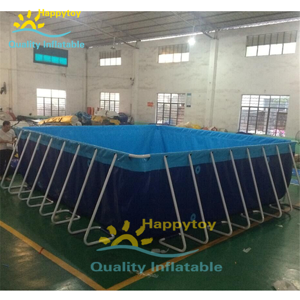 Steel Structure Swimming Pool Frame Pool Above Ground Swimming Pool