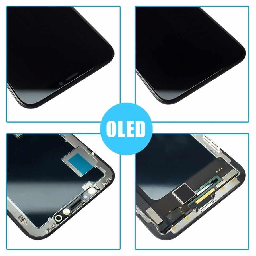 Pinzheng Ban Đầu Màn Hình Dành Cho Iphone X XR XS Max LCD & Nbsp OLED Màn Hình TFT OEM Chất Lượng Bộ Số Hóa Repalcement Màn Hình màn Hình LCD
