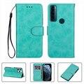 Для TCL 20 SE TCL20SE TCL20 20SE бумажник чехол Высокое качество Флип кожаный защитный корпус для телефона чехол Funda