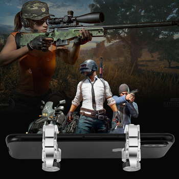 Metal PUBG Mobile Trigger Gamepad L1R1 Shooter Smartphone Gamepad Controller For Iphone Xiaomi image