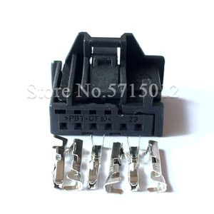 6 Hole 1-969490-4 Car Sunroof Reading Light Lamp Connector Rearview Mirror Switch Plug Auto Electrical Connectors For VW Audi