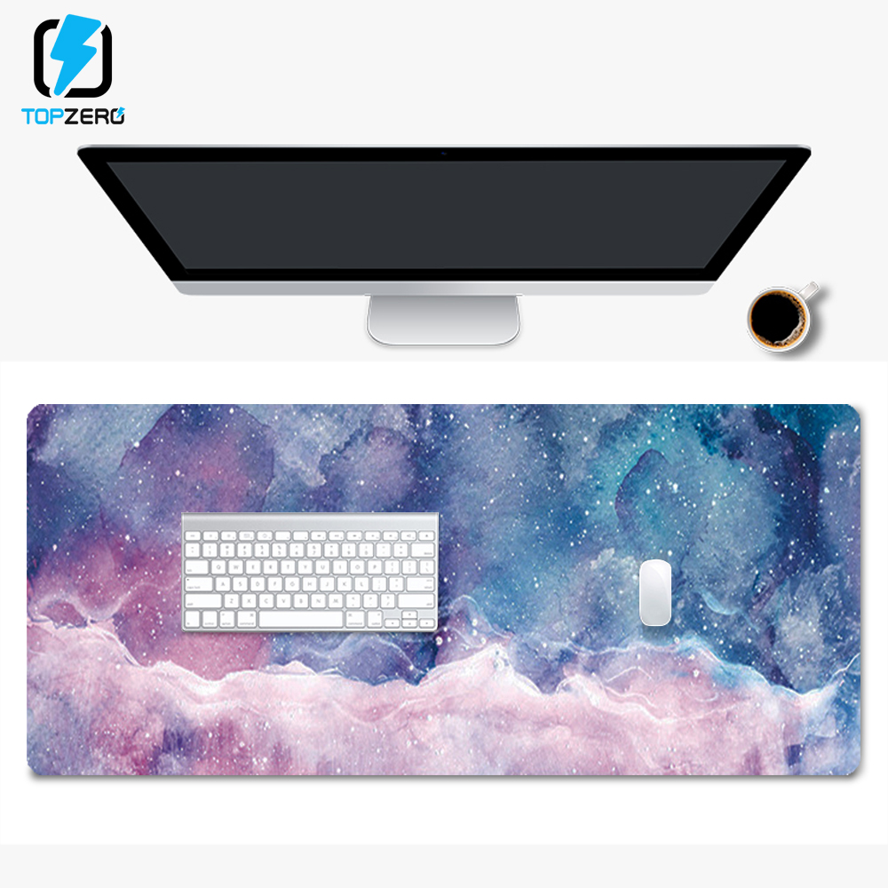 XXL 800*300mm Marble Large Size Gaming Mouse Pad Anti-slip Natural Rubber PC Computer Gamer Mousepad Desk Mat For CS GO LOL Dota