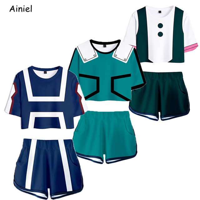 Ainiel Women Girls Skirt Set with Necklace Cosplay Costume Halloween