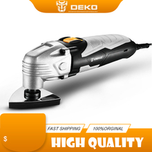 Electric Trimmer Oscillating-Tool Multifunction DEKO Accessories 220V Saw with Variable-Speed