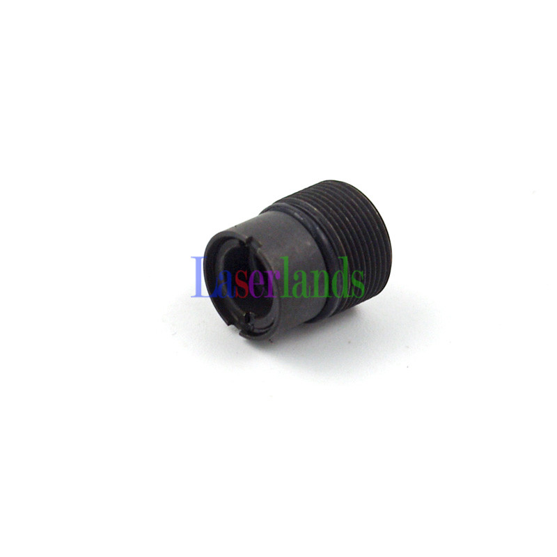 2pcs Coated Glass Focal Collimator Collimating Lens 405nm 445nm 450nm 473nm Violet Blue Laser Diode M9/P0.5 Frame