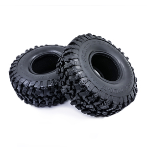 Image 2 - 4PCS 120MM 1.9 Inch Soft Tires For SCX10 90046 D90 TRX4 RC Truck Crawler 1.9/2.2 Rim