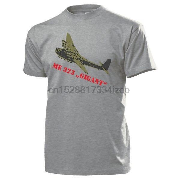 2019 Hot sale Da Moda Me 323 Gigant Luftwaffe Flugzeug Deutschland Wh WK-T shirt Camiseta