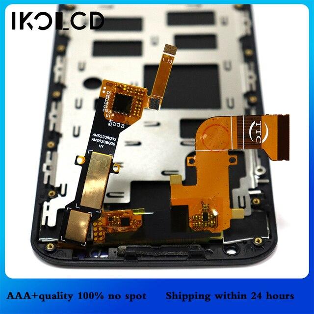 """لموتورولا X2 شاشة LCD تعمل باللمس محول الأرقام الجمعية مع الإطار + أدوات ل موتو X2 XT1092 XT1095 XT1097 5.2 """"شاشات الكريستال السائل"""