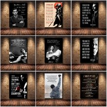 Мотивационные HD Печать на холсте Вдохновенный успех художественная стена с цитатой печати плакатов картина без рамки для Декор в гостиную