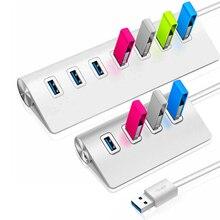 USB 3.0 hub 4/7 port aluminum USB HUB