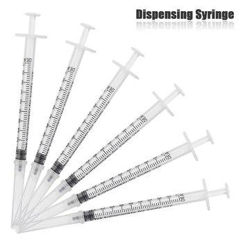 цена на 10pcs 1ml Sterile Syringe Oral Dispensing Disposable No Needles Plastic Syringe Random Color