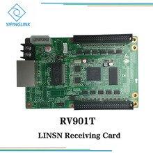 LINSN полный цвет синхронный светодиодный экран дисплей получения карты RV901 RV901T приемник карты
