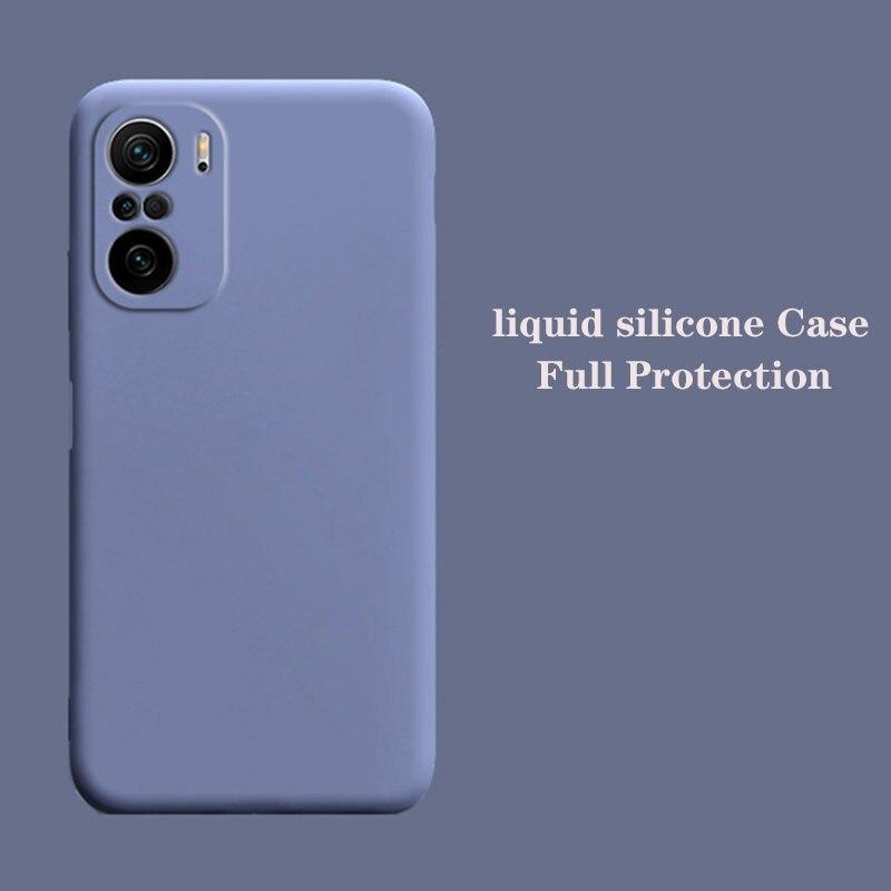 Чехол для Xiaomi Redmi Note 10 Pro, Оригинальный чехол из жидкого силикона с защитой от падения для Xiaomi Redmi Note 8, 9 Pro, K40, чехол для Xiaomi 10S