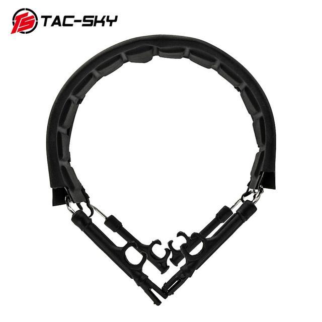 TAC SKY Airsoft Tactical Shooting Headphones with Headband Headband Hoop Bracket Headset Accessories Replacement