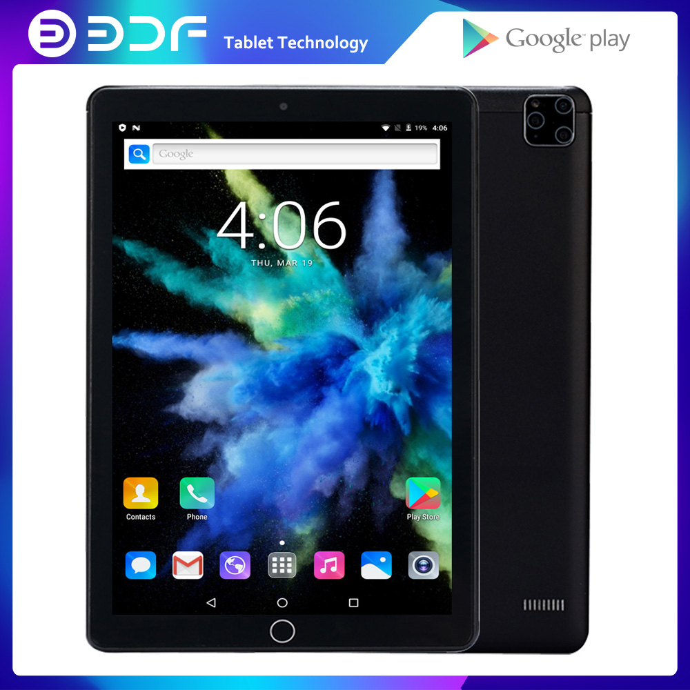 2020 New Original 10 Inch 3G Phone Call Android 7.0 GPS Tablet PC Tab WiFi IPS Kids Phablets Dual SIM Card Wifi Bluetooth