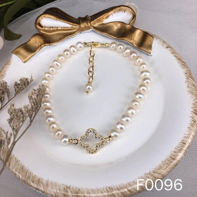 Kids Small Beads Gold Natural Pearl Bracelet Womens Fashion Jewelry Christmas Gifts Pulseras Moda 2019 Bracciali Ragazza SL1022 in Strand Bracelets from Jewelry Accessories