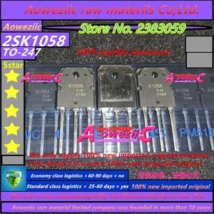 Image 3 - Aoweziic  2019+  100% new imported original  2SJ162 2SK1058 2SJ162 K1058 J162 TO 247 high power audible counter tube (1 pair)