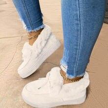 2020 зимние ботинки на плоской подошве обувь из кожи и шерсти