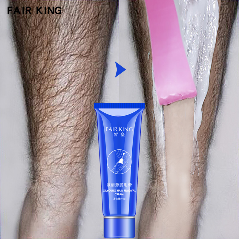 FAIR KING Men and Women Herbal Depilatory Cream Hair Removal Painless Cream for Removal Armpit Legs Hair Body Care Shaving 40g