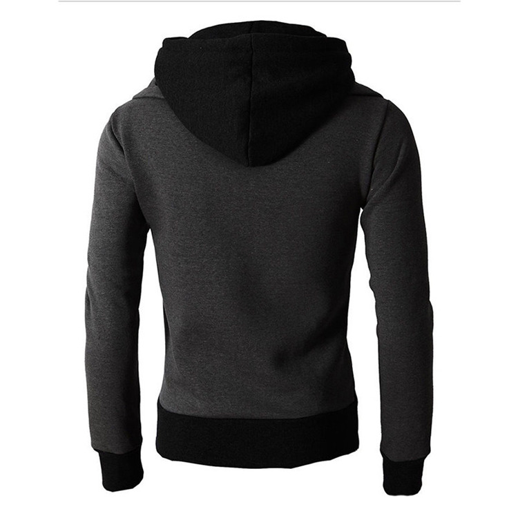 H5b4f36137647429881a57dd9c749646e6 - NaranjaSabor New Men's Hoodie Autumn Men Fleece Hooded Sweatshirts Fashion Stitching Color Male Casual Brand Clothing N625