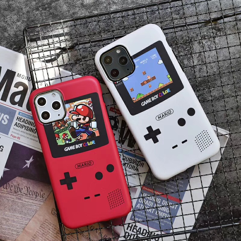 Classic Game Console BOY ADVANCES Marios Phone Case For Apple Iphone 11 Pro Max Xr X XS 7 8 6 S Plus Soft IMD Cover Fundas