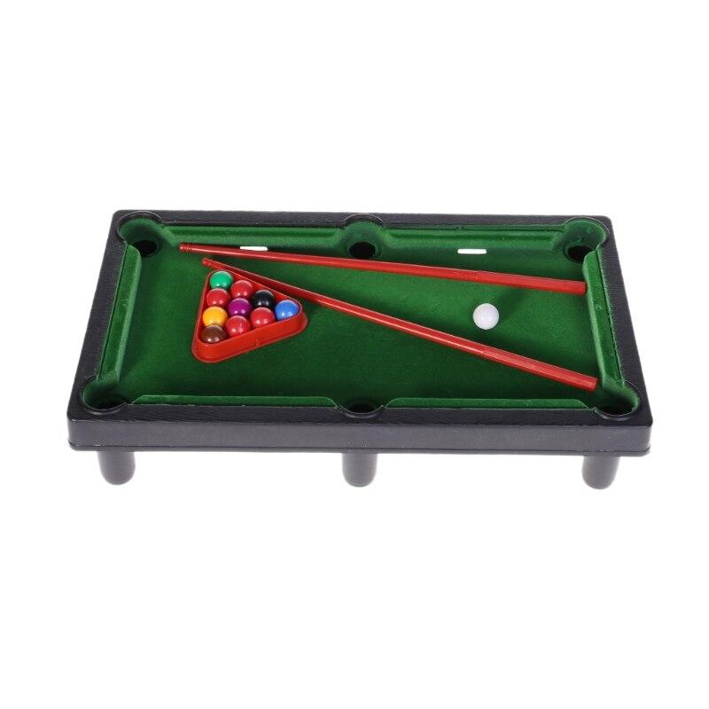 Mini Desktop Billiards Toy Outdoor Games Mini Tabletop Whole Family Pool Set Parent-Child Interaction Kids Toy