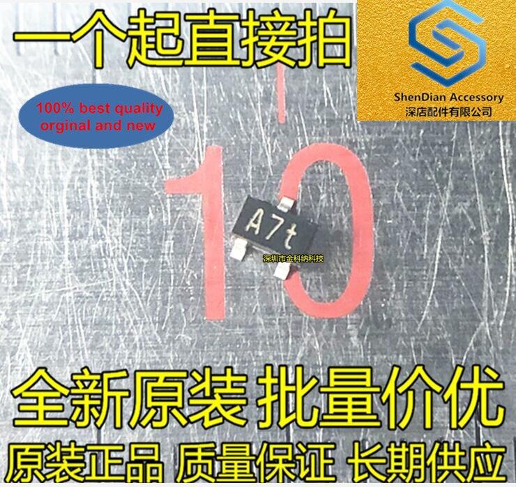 30pcs 100% Orignal New Silkscreen A7t 1SS302 SOT323 Ultra High Speed Diode Switching Diode Rectifier In Stock