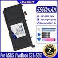 HSABAT B31N1336 Batterie für ASUS VivoBook C31-S551 S551L S551LB S551LA R553L R553LN R553LF K551L K551LN V551L V551LA Batterien