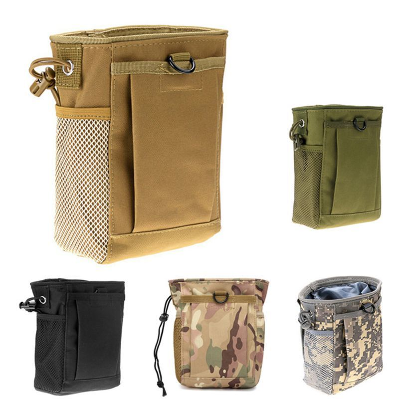 Molle Hunting Rifle Bag Tactical Military Ammo Pouch Portable   Outdoor Hunting Air Gun Nylon Tactical Accessories Bag