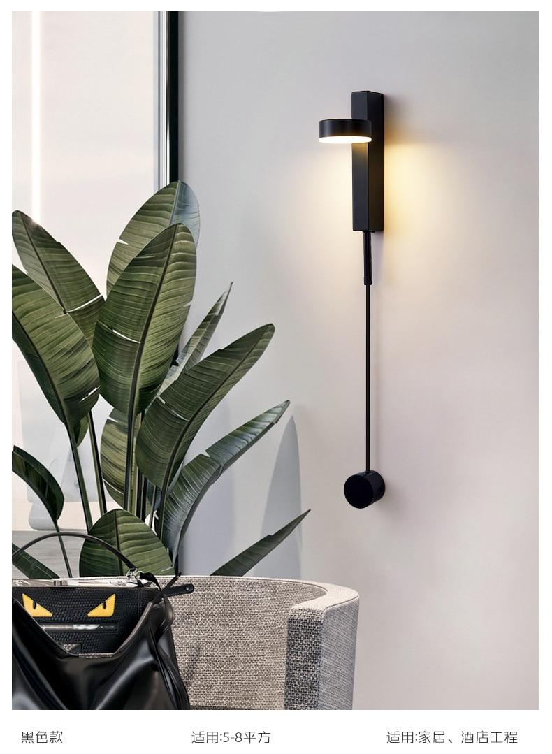 quarto luzes de cabeceira escadas corredor varanda luminária