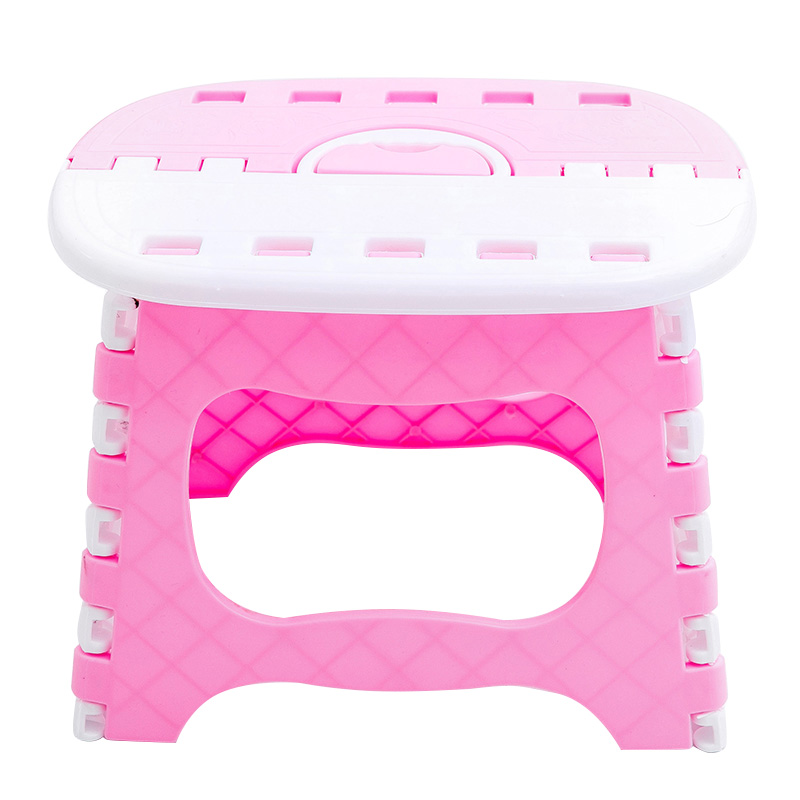 Folding Step Stool Lightweight Sturdy Support Adults Kids For Kitchen Bathroom Bedroom VJ-Drop
