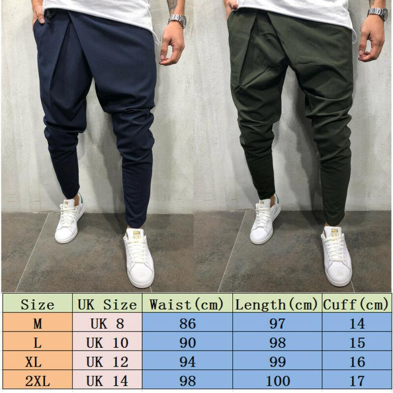 Pantalon de survêtement pour hommes, nouveau Style de mode, uni, Slim, manchette, décontracté, uni, 2020 2