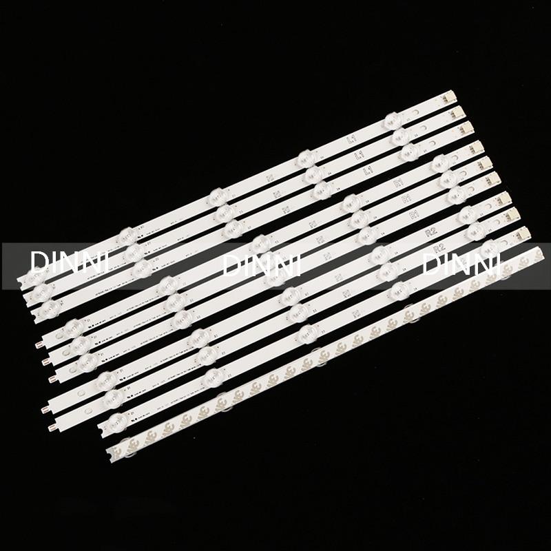 (New Original)10 PCS/set LED Backlight Strip For LG 42LA620S 42LN570S 6916L-1214A 6916L-1215A 6916L-1216A 6916L-1217A