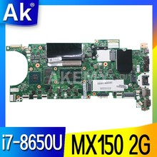 ET481 NM-B471 ana kurulu For Lenovo Thinkpad T480S Laptop anakart SR3L8 i7-8650U CPU Geforce MX150 2G GDDR5(China)