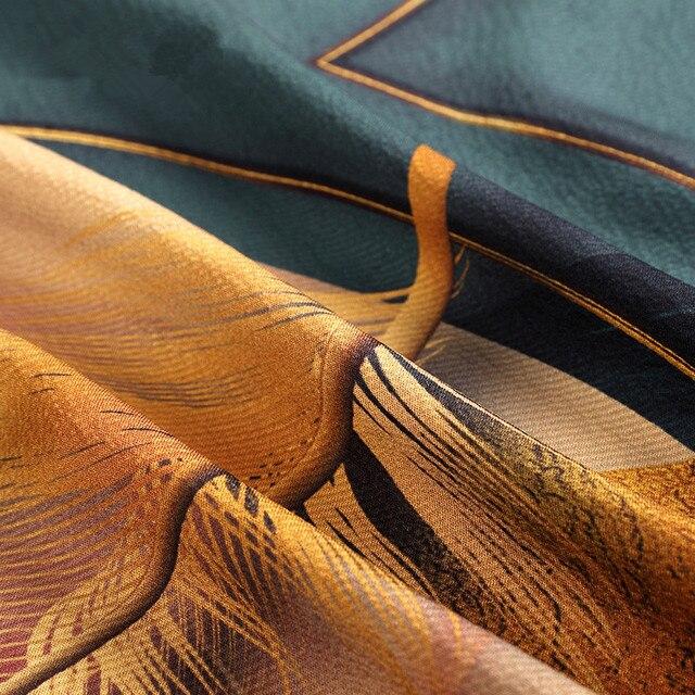 ZUOMAN Silk Dress New Summer Women Loose Plus size Casual Dress OL work Wear Vintage Print beach Sundress dresses vestidos 4