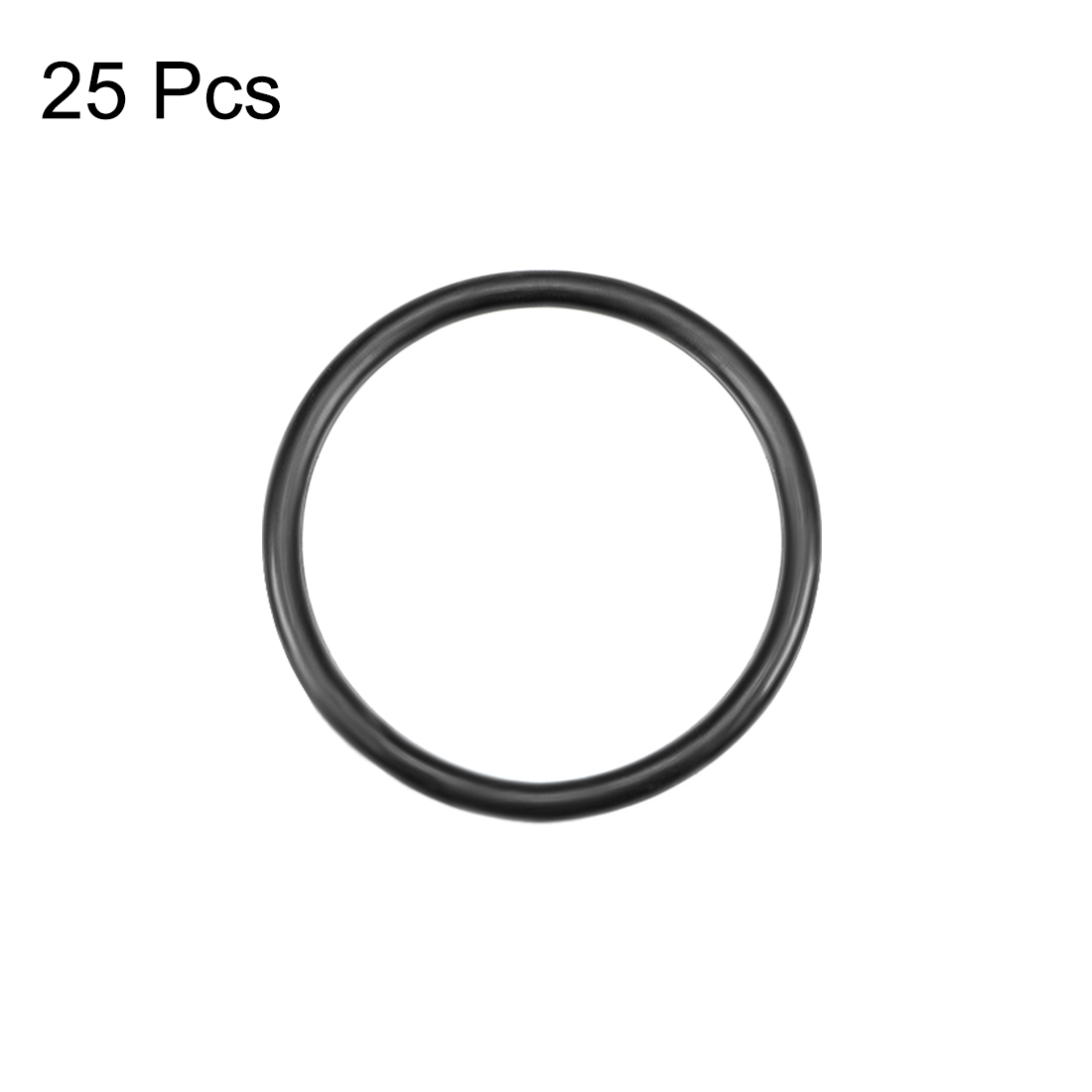 28mm OD Round Seal Gasket uxcell O-Rings Nitrile Rubber Pack of 10 18mm Inner Diameter 5mm Width
