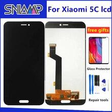 الأصلي LCD ل شاومي mi 5C عرض لوحة اللمس شاشة محول الأرقام الجمعية مع الإطار ل شاومي mi 5C M5C الهاتف الاستشعار أجزاء