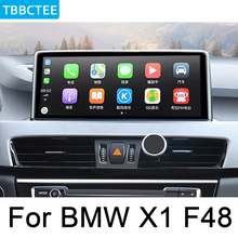 For BMW X1 F48 2016~2017 NBT Car Android System HD 1080P IPS LCD Screen Car Radio Player GPS Navigation BT WiFi AUX Map gps navigation auto radio multimedia player for bmw x1 f48 2016 2017 nbt system 10 25 ips screen android 8 1 px6 vehichle navi