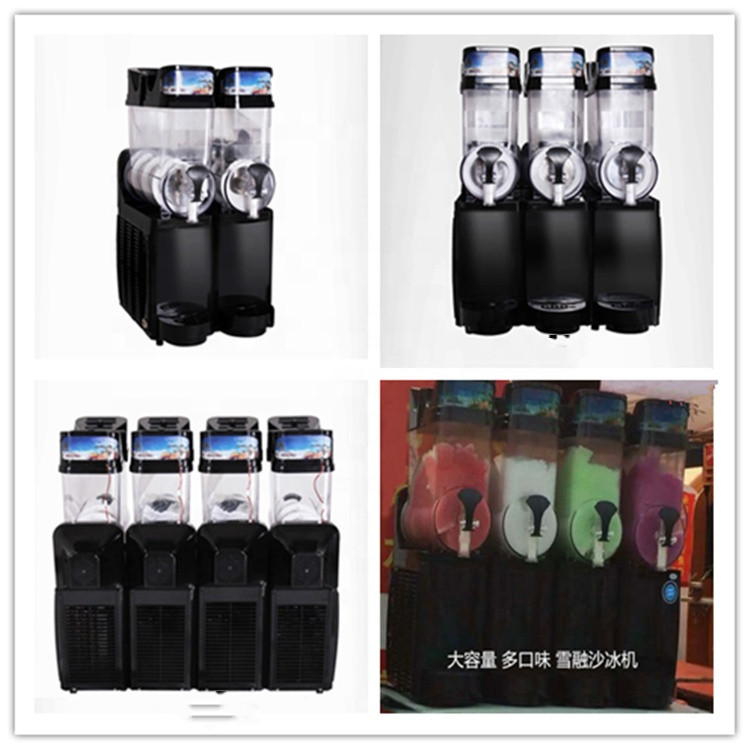 Factory Price Homeuse Commercial Ice Slush Machine/Slush Syrup/Slush Puppy Machines One Two Three Four Tanks For Sale