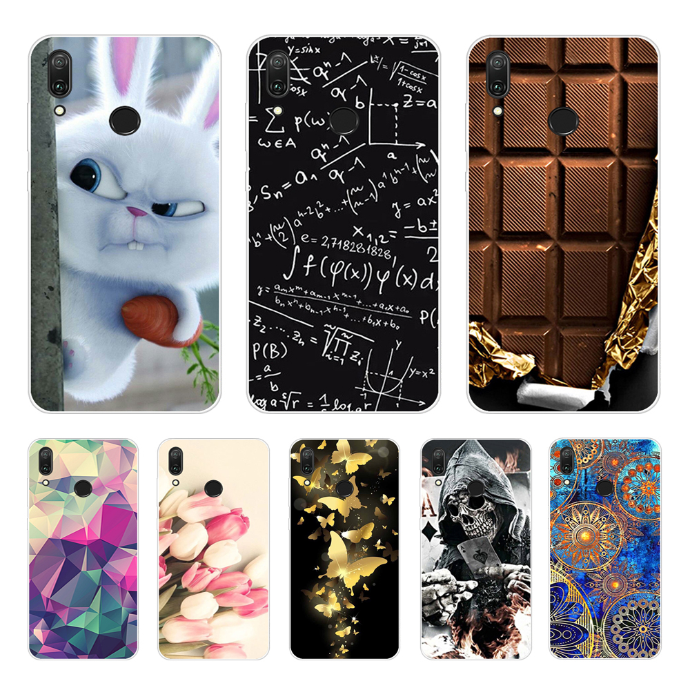 For Coque <font><b>Huawei</b></font> Y7 <font><b>2019</b></font> Case Phone Cover Soft Silicone Printing Back Case <font><b>Fundas</b></font> For <font><b>Huawei</b></font> Y7 <font><b>2019</b></font> <font><b>Y</b></font> <font><b>7</b></font> Y7 Pro <font><b>2019</b></font> Cover TPU image