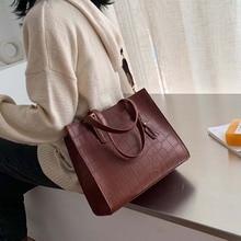 цены vintage stone large capacity totes designer women handbags luxury pu leather shoulder crossbody bags casual buckets bag purses