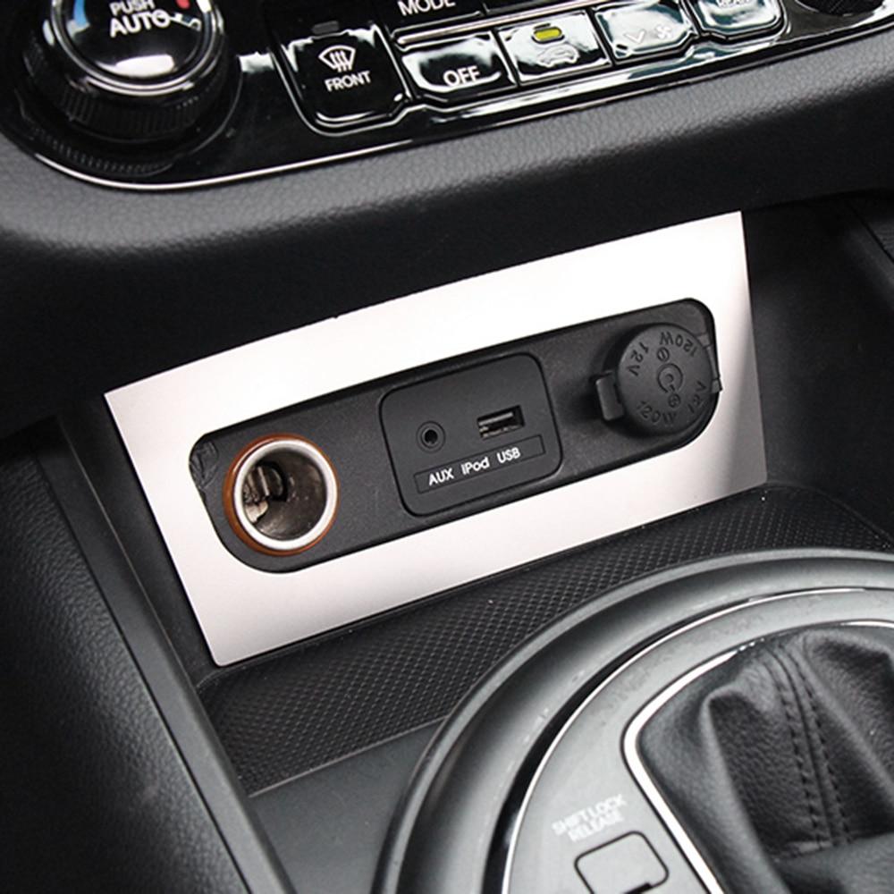 Carbon Fiber Auxiliary Rear Brake Light 3D Stickers For KIA Sportage R 2011-2015