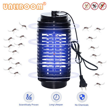 Electric Mosquito Killer Lamp 110V 220V Led Photocatalyst Fly Trap Bug Insect Killer Lamp Anti Mosquito Repellent EU US UK Plug electronic mosquito killer lamp smart photocatalyst light bug insect mosquito repellent repeller zapper with us plug adapter