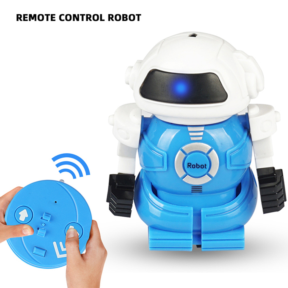 New Arrival Can Robot RC Infrared Control Mini Educational Toys Children Remote Control Battle Robot Toy Gift