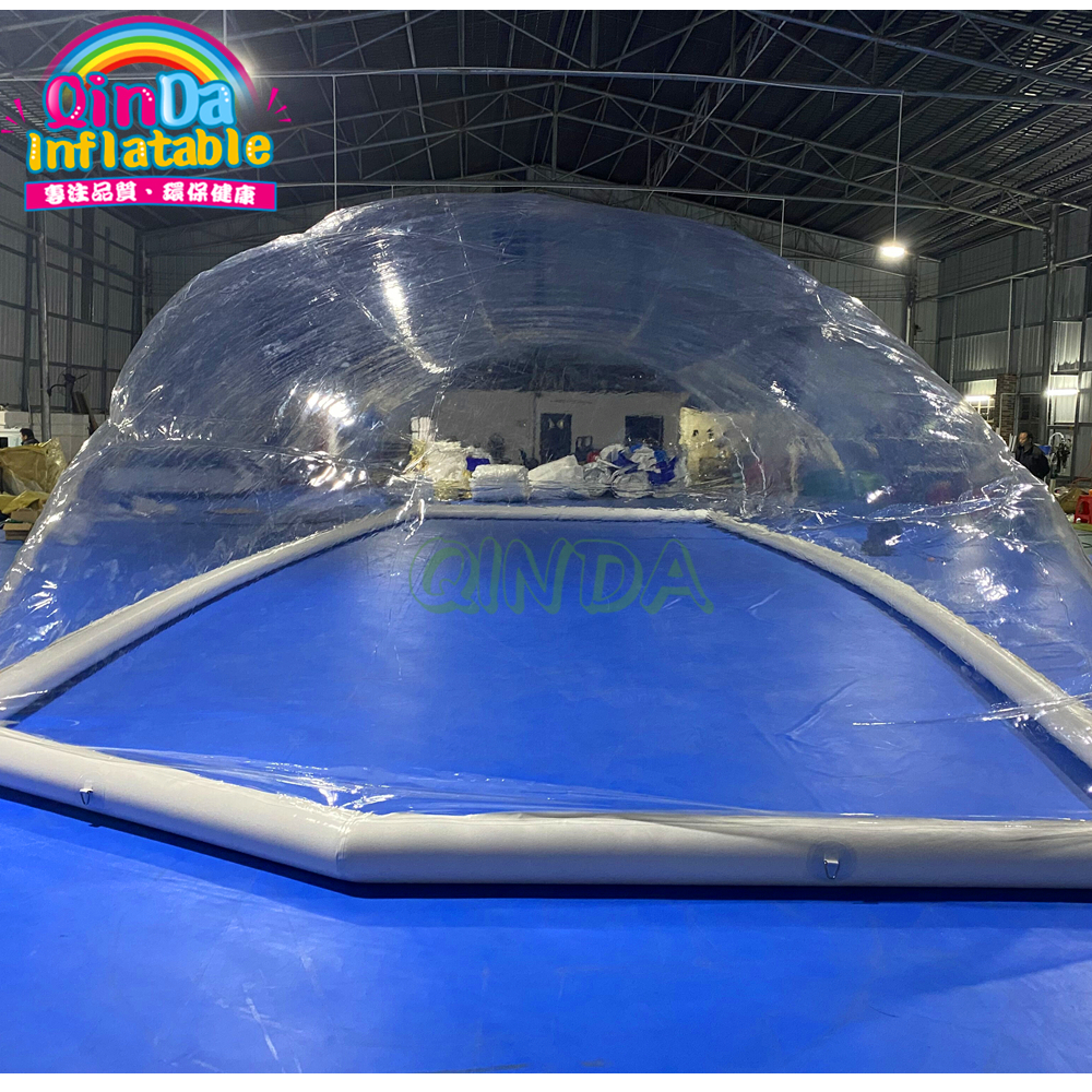 2020 New Inflatable Pool Dome For Sale/ Pools Inflatable Transparent Dome Tent For Sale