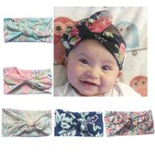 2pcs / set Daughter Kids Baby Girl Bow Headband Hair  Band Accessories Parent-child family Headwear