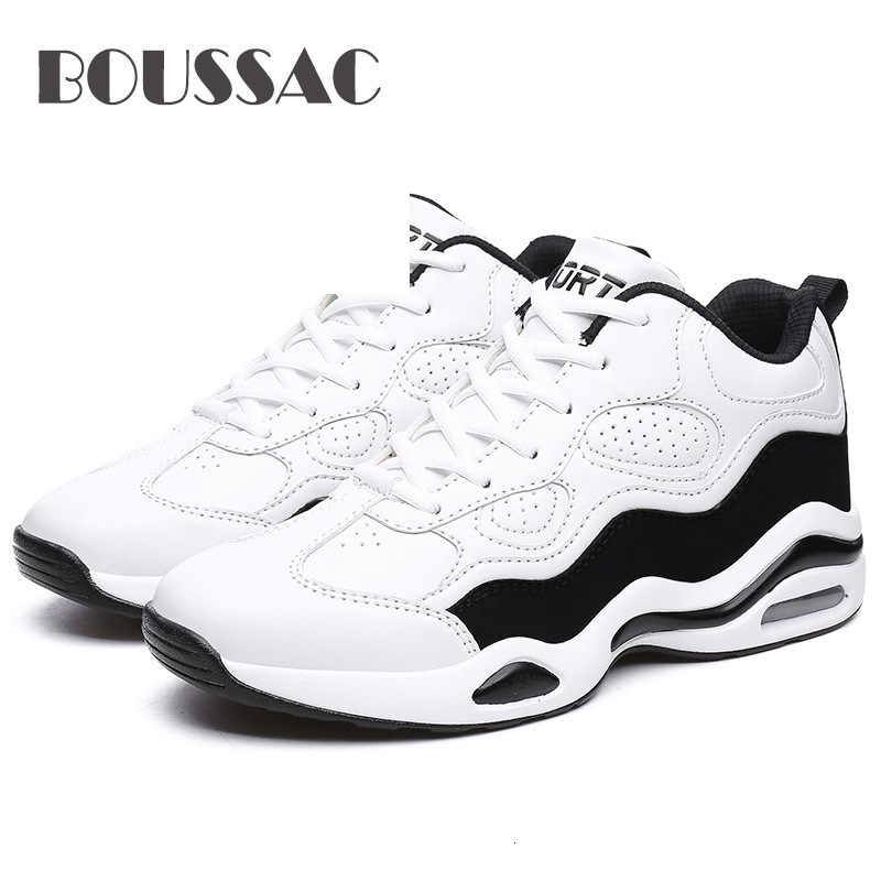 BOUSSAC New Retro Basketball Shoes Men AIR Buffer Skid Lightweight Sports Shoes Outdoor Camping Sneakers Trekking Athletic