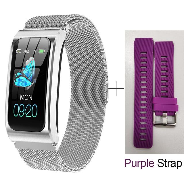 SILVER STEEL Purple