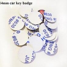 14mm GTICar Key logo sticker metal FOB car key emblem
